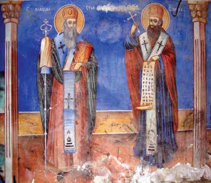 Freska_na_Sv._Kiril_i_Metodij_od_Sv._Petka_Bešička